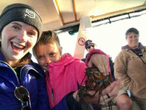 Adventures On the Lobster Fishing Boat